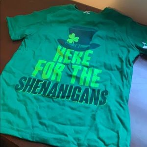 St Patrick's day shirt.